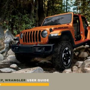 2018 Jeep Wrangler jl user guide