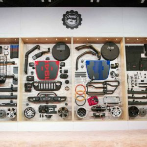 Jeep SEMA Wrangler Accessories
