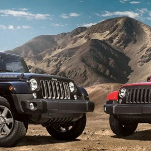 Jeep Wrangler Golden Eagle and Freedom edition